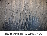 condensation water droplets in... | Shutterstock . vector #262417460