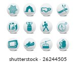 vector illustration of winter... | Shutterstock .eps vector #26244505