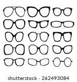icon set  sunglasses...
