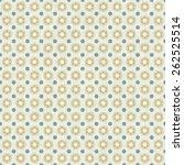 vector of seamless grunge... | Shutterstock .eps vector #262525514