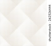 vector seamless pattern. modern ... | Shutterstock .eps vector #262526444