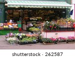 florist shop taken on the high... | Shutterstock . vector #262587