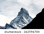 mountain matterhorn  alps ...