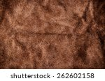 Постер, плакат: Brown Suede Leather for