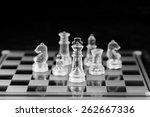 chess figure  business concept... | Shutterstock . vector #262667336