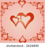 interlocked hearts for... | Shutterstock .eps vector #2626840