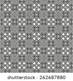 pattern seamless design vector... | Shutterstock .eps vector #262687880