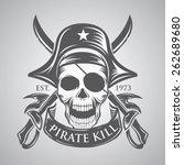 pirate | Shutterstock .eps vector #262689680