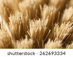 hair brush bristles. | Shutterstock . vector #262693334