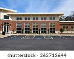 front facade of a new... | Shutterstock . vector #262713644
