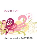 abstract illustration of a... | Shutterstock .eps vector #26271370
