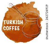 istanbul notes   traditional... | Shutterstock .eps vector #262726919