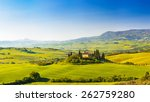 Beautiful Landscape In Tuscany...