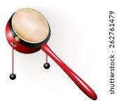 musical instruments series.... | Shutterstock .eps vector #262761479