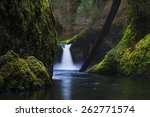 Punchbowl Falls In Spring