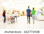 people shopping in department... | Shutterstock . vector #262772438