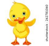 Illustration Of Happy Ducklin...