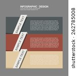 infographic elements in modern...