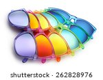 Colored Sunglasses  Summer...