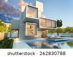 3d rendering of impressive... | Shutterstock . vector #262830788