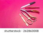 manicure set | Shutterstock . vector #262863008
