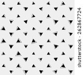 pattern monochrome background... | Shutterstock .eps vector #262867724