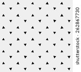 pattern monochrome background... | Shutterstock .eps vector #262867730