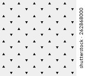pattern monochrome background... | Shutterstock .eps vector #262868000