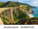 Bixby Creek Bridge In Big Sur ...