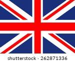 united kingdom flag | Shutterstock .eps vector #262871336