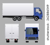 truck | Shutterstock .eps vector #262886549