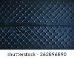 Texture Of Dark Wooden Gate...