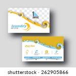 modern business card vector...