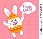 Happy Eastern Greeting Card...