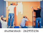 home improvement  renovation... | Shutterstock . vector #262955156