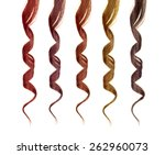 Colored Strands Of Hair...