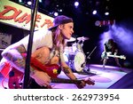 barcelona   mar 18  dune rats ... | Shutterstock . vector #262973954