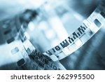 film reel | Shutterstock . vector #262995500