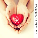 healthcare  medicine and blood... | Shutterstock . vector #263003669