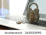 Internet Security Concept Old ...