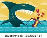 great illustration of retro... | Shutterstock . vector #263039414