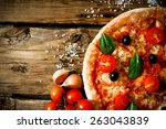 Tasty Pizza  Tomatoes And...