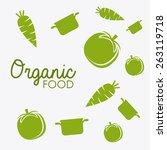 food design over white... | Shutterstock .eps vector #263119718