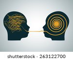 vector illustration of 2... | Shutterstock .eps vector #263122700