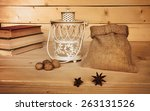 Dollars On Wooden Background