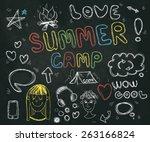 vector abstract illustration of ...   Shutterstock .eps vector #263166824