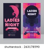 template for ladies night party ... | Shutterstock .eps vector #263178590