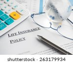 Small photo of life insurance policy