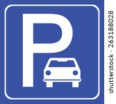 car parking icon great for any... | Shutterstock .eps vector #263188028