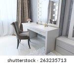 classic dresser style art deco  ... | Shutterstock . vector #263235713